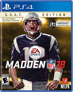 Madden NFL 18 G.O.A.T. Edition - PlayStation 4 - reyes shop store