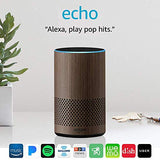 Echo (2nd Generation) - Smart speaker with Alexa - Limited Edition Walnut Finish