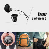 True Wireless Earbuds,Sanag Wireless Earphones With Charging Box Truly Stereo Sports Headphones With Mic,Touch Control,Sweatproof,For Iphone or Android (Rose Gold)
