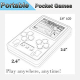 "Portable Handheld Game Console Built in 318 Mini Video Games 2.6"" Screen Rechargeable Battery Great for Gaming Entertainment Birthday Xmas Present to Adults and Kids (Red)"