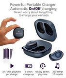 Bluephonic True Wireless Earbuds - Latest Bluetooth 5.0 Mini in Ear Headphones 3D Stereo Sound, 18H Play Time, SweatProof Sports Earphones Headset, Built in Microphone & Dual Speakers for Phone Calls