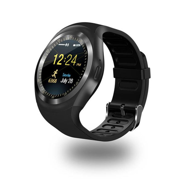 696 Bluetooth Y1 Smart Watch Relogio Android Smartwatch Phone Call SIM TF Camera - reyes shop store