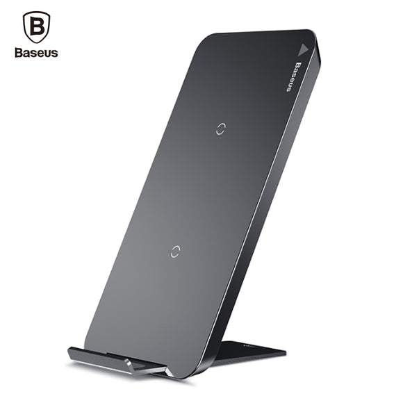 Baseus Qi Wireless Charger For iPhone X 8 Samsung Note 9 Galaxy S9+ S7 S6 Edge Phone Fast Wireless Charging Docking Dock Station - reyes shop store