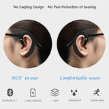 CBAOOO X2 Cordless headphones Wireless Bluetooth Earphones Waterproof Bluetooth Earbuds Sports Headset bone conduction earphone - reyes shop store