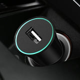 Car phone charger Dual usb car charger LED display USB charger for Samsung Xiaomi Huawei Universal USB phone tablet charger - reyes shop store