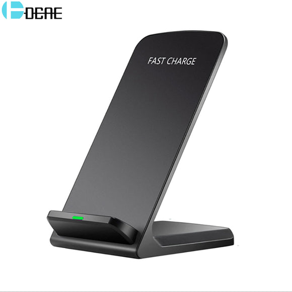 DCAE Qi Wireless Charger For iPhone X 8 For Samsung Note 8 S9 S8 Plus Xiaomi mix 2s Fast Wireless Charging Docking Dock Station - reyes shop store