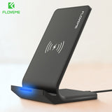 FLOVEME 5V/2A Wireless Charger For Samsung Galaxy S8 S7 Edge Note 8 Qi Wireless Charging Dock For iPhone X 8 8 Plus USB Charger - reyes shop store