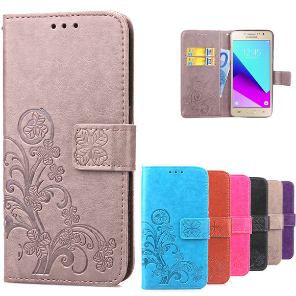 For Galaxy Samsung J2 Case PU Leather Wallet Flip Case For Samsung Galaxy J2 Prime G532 G532F SM-G532F Case For Samsung J2 Prime - reyes shop store