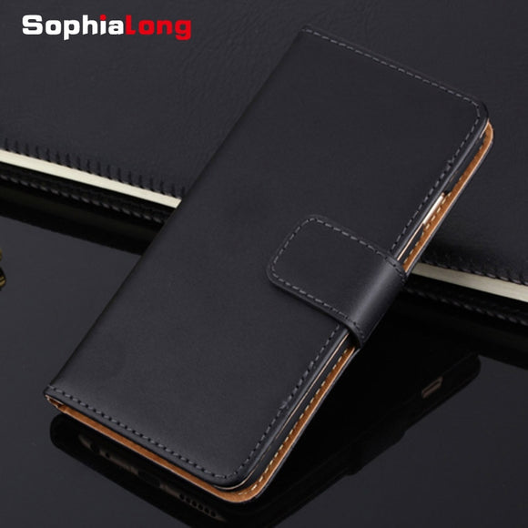 For iPhone XS Max XR 6 7 8 Plus Case Genuine Leather Cases for iPhone X 10 6S Flip Wallet Cover for iPhone 5S SE 4 S Corium Bags 1 2
