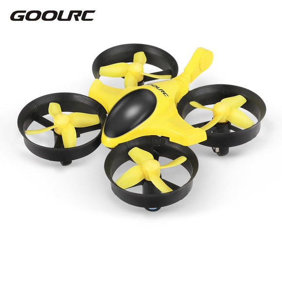GOOLRC UFO Scorpion Mini Drone T36 4CH 6-Axis Gyro 3D-Flip Anti-crush RC Quadcopter RTF Selfie Drone Bonus Battery Gifts Toys - reyes shop store