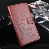 HongBaiwei For Samsung Galaxy J2 Pro 2018 Case Wallet PU Leather Case For Samsung J2 Pro 2018 J250F Flip Protective Cover Bag - reyes shop store