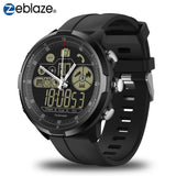 IP67/50M Water Resistant ZEBLAZE VIBE 4 HYBRID Rugged Smartwatch 1.24inch FSTN & Mechanical Hands Sapphire Glass Smart Watch Men - reyes shop store