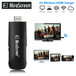 Mirascreen A2 HDMI WiFi Dongle Chromecast 2 mirroring multiple TV stick Chromecast 2 Adapter Mini PC Android Chrome Cast Google