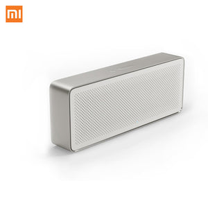 Original Xiaomi Mi Bluetooth Speaker Square Box 2 Stereo Portable Bluetooth 4.2 High Definition Sound Quality 10h Play Music AUX
