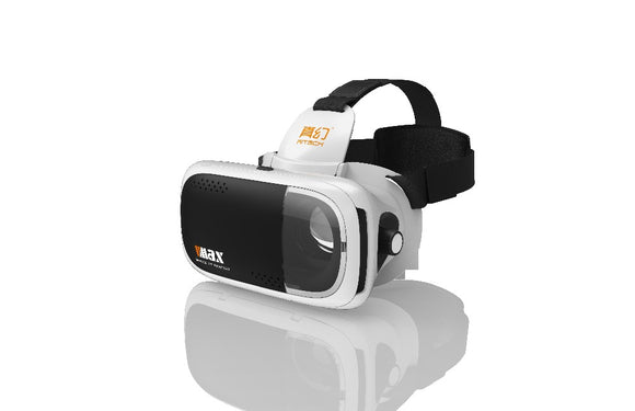 RITECH VMAX Immersive 3D Movie Glasses Virtual Reality Glasses VR Headset Helmet for 4.7-6' Smartphone F19943