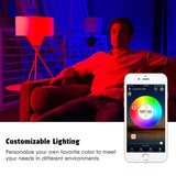 Smart Bulb WIFI 4.5W E27 RGB color Dimmable Smart Light LED Bulb