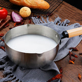 Stainless Steel Milk Noodle Soup Pot Saucepan Home Kitchen Cooking Tool
