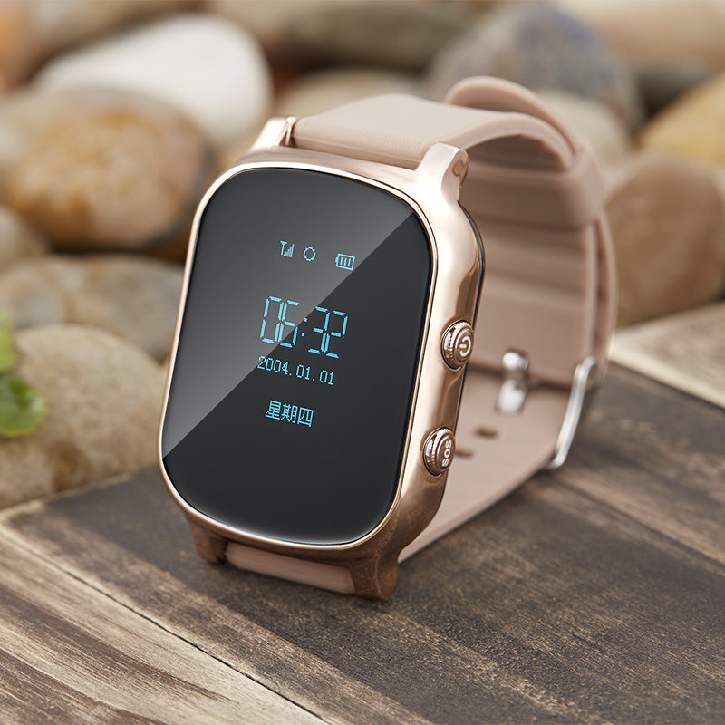 T58 smart children's watches GPS Tracker SOS Call with sim card in Russian  Kid Smartwatch For IOS android Phone GPS Watch
