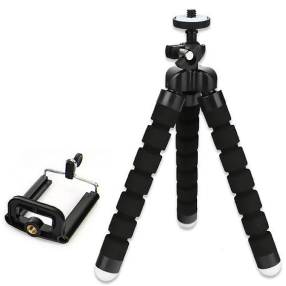 Universal Flexible Mini Portable Stand Tripod Kit For Smartphone with Free Phone Holder Bracket High Quality 3 Colors