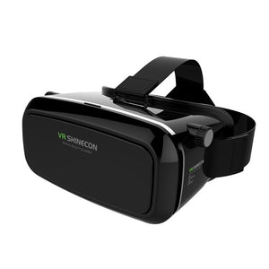 VR Box Virtual Reality 3D Glasses Movie Game For iPhone Movie Game Black VR Headset VR Box for 4.7-6.0-inch cell phone