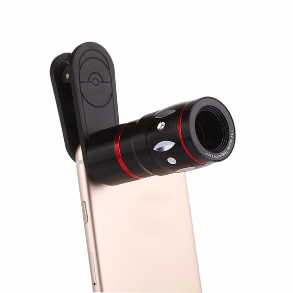 With Clip 10X Telephoto Lens Mobile Phone Lentes Optical Zoom Telescope Camera Kit Lenses For iPhone 4 5 5C 5S SE 6 6S 7 Plus