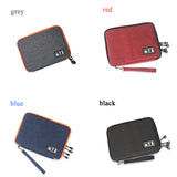 Yesello Waterproof Ipad Organizer USB Data Cable Earphone Wire Pen Power Bank Travel Accessories Case Digital Gadget Devices Bag