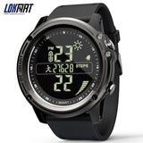 Bluetooth SmartWatch Sports Pedometer 5ATM Waterproof  Real-time Weather Steps Digital Clock Smart Watch Men For IOS & Android