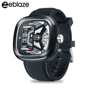 Zeblaze Hybrid 2 Dual Smart Watch Men Heart Rate Blood Pressure Monitor 5ATM Waterproof  Fitness Tracker Sports Smartwatch Women