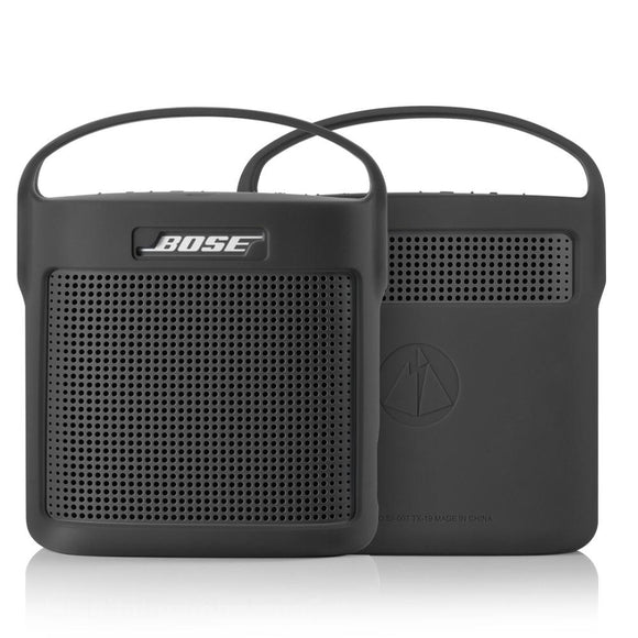 Protective Silicone Cover Case for Bose SoundLink Color II 2 Bluetooth Speaker Outdoor Shockproof Case Cover Handbag