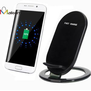 2017 Qi Fast Wireless Charger 5V 1.5A Quick Charger Power Charger Charging Pad For Samsung Galaxy S8/S8 Plus#30 - reyes shop store