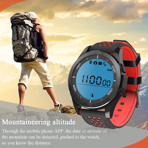 Smart Bracelet Sport Watch support Altimeter/Pedometer/Sleep Monitor/Calorie Consumption Waterproof for Android iOS - reyes shop store