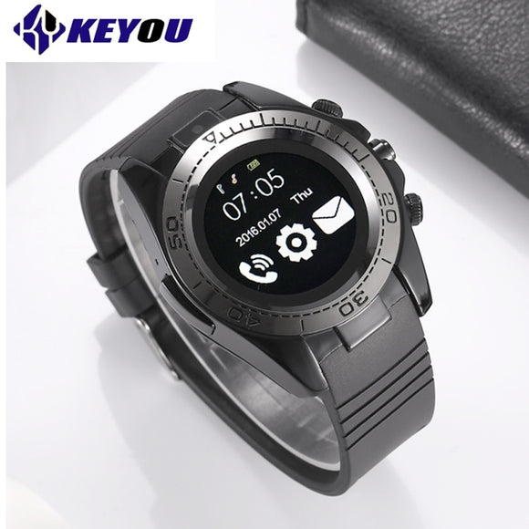 KY SW007 Clock phone Smart Watch Bluetooth Sport Smartwatch Men Android IOS Camera Wearable Devices 2G Sim TF card smartwach