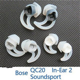 Replacement Ear Bud Tips for BOSE QC20i QC20 QuietComfort Earphones Headphone - reyes shop store