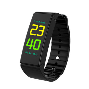 Fitness Tracker Waterproof Fitness Watch Heart Rate Monitor Activity Tracker Smart Bracelet Pedometer Wristband - reyes shop store