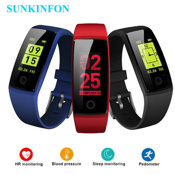 V10 Smart Wristband Fitness Bracelet Heart Rate Monitor Smart band Acitivity Tracker Pedometer Blood Pressure Colorful Smarband