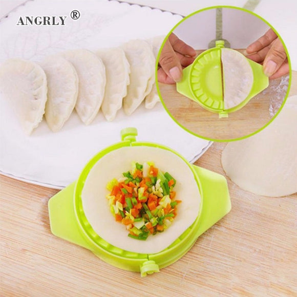 1pcs Home Kitchen Cooking Tools Magic Creative Manual Pack Dumpling Machine Easy Eco Friendly Dumpling Knife Tools Mould Supply