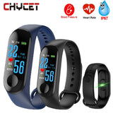 Smart Band Blood Pressure M3 Fitness Tracker Watch IP67 Swimming Waterproof GPS Tracker Heart Rate Monitor Smartband Men Women