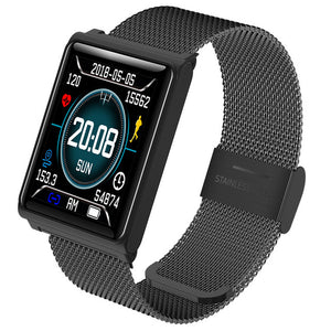 Fitness Smart Watch Men Tracker Heart Rate Blood Pressure Sleep Monitor For IOS & Android Waterproof Color Screen Smarwatch N98