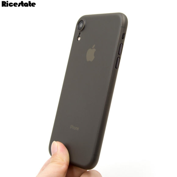 0.3mm Ultra thin Matte phone case For iphone iphone XR X R 6.1