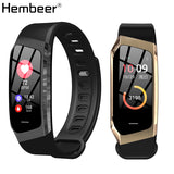 Hembeer XR18 Smart Bracelet Accurate Heart Rate Monitor Blood Pressure Monitor Alloy Frame Smart Band Step Counter pk Fitbits