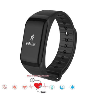 2017 New Arrival SmarBand Blood Pressure SKF-F1 Smart Bracelet Watch Heart Rate Monitor Wireless Fitness for Android IOS Phones
