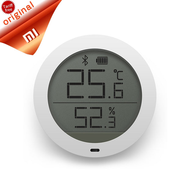 Original Xiaomi Mijia Bluetooth Hygrothermograph High Sensitive LCD Screen Wireless Hygrometer Thermometer Smart Home Mijia APP