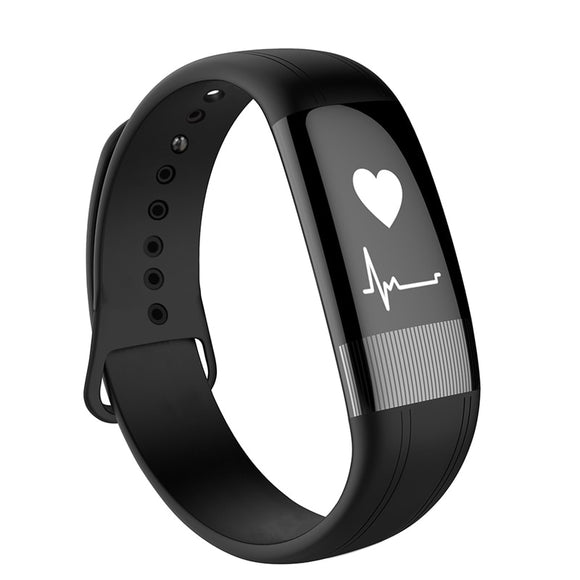 2018 New Beseneur E18 Smart Wristband with ECG Function Fitness Tracker Heart Rate Monitor Step Bracelet for Android IOS Phone
