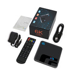 Topsion Android 9.0 Smart TV BOX   4G DDR3 32G EMMC ROM Set Top Box 6K 3D H.265 Wifi media player TV Receiver