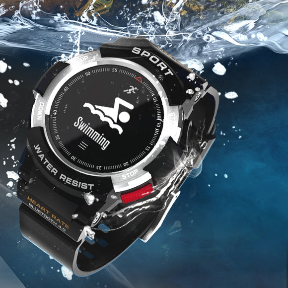 2018 NEW Smart watches F6 Smartwatch Bracelet Outdoor GPS IP68 waterproof Multi-sport Watch Men wearable devices PK EX17 F5