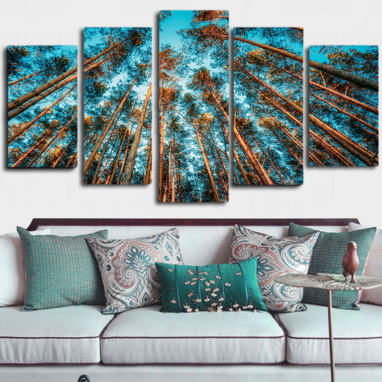 Forest Trees Canvas Art