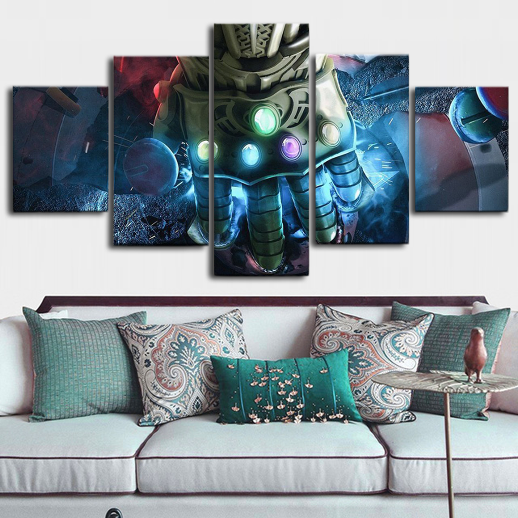 Infinity Gauntlet Canvas Art