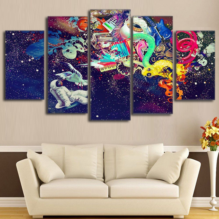 Abstract Space Art