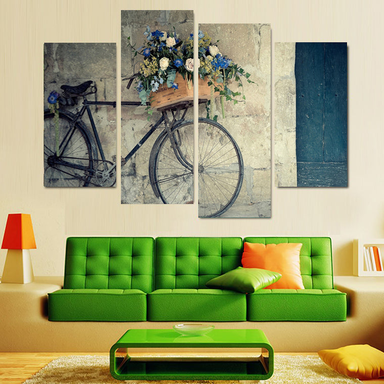 Vintage Bicycle Canvas Art
