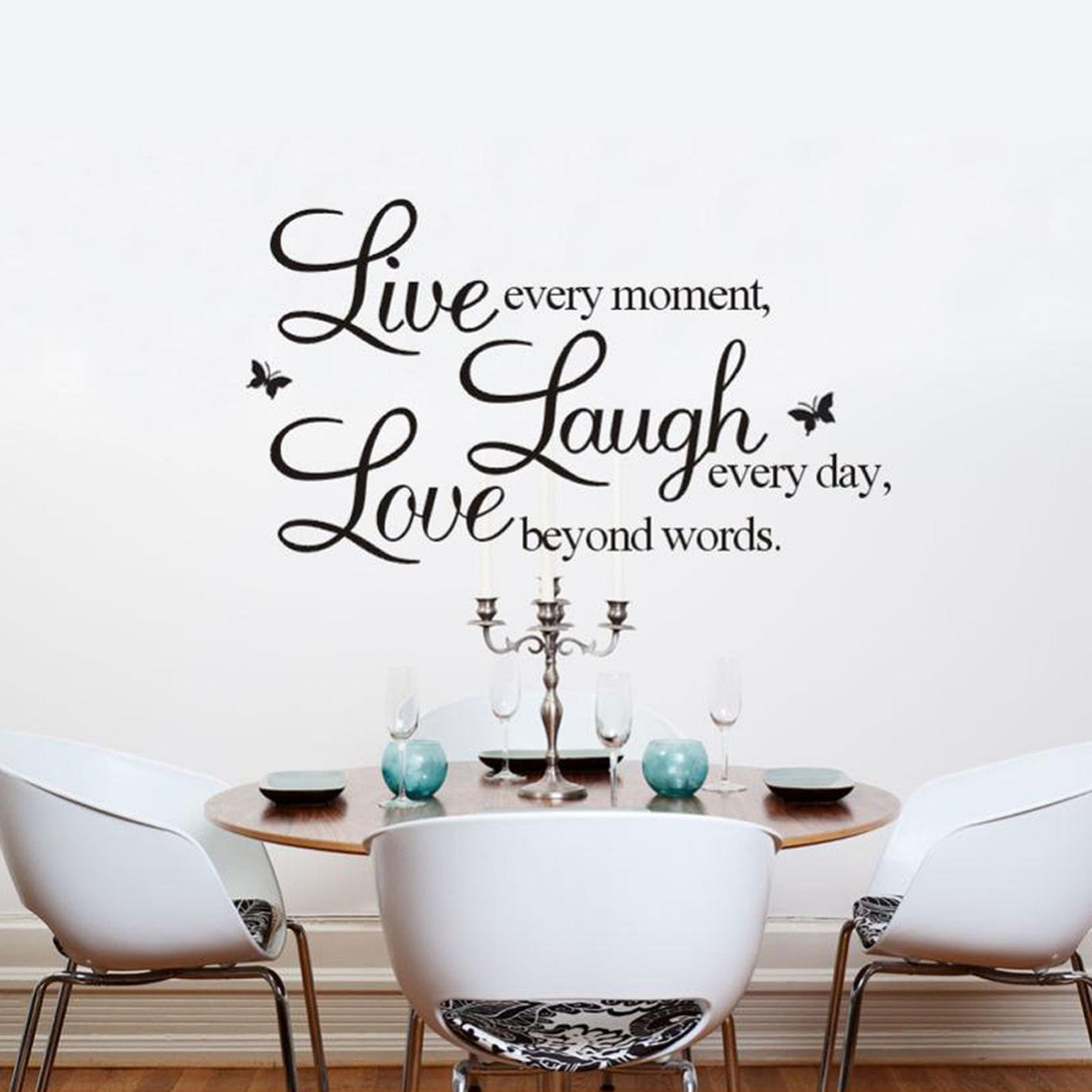 Live Laugh Love Quote Live Laugh Love Quotes Decal Wall Art  Anjuna Lane